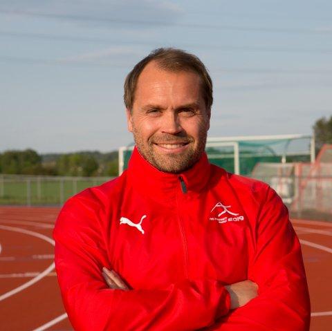KLAR: Fredrik Garshol i arrangørstaben til NM i friidrett gleder seg til NM på hjemmebane mellom 2. og 4. august.