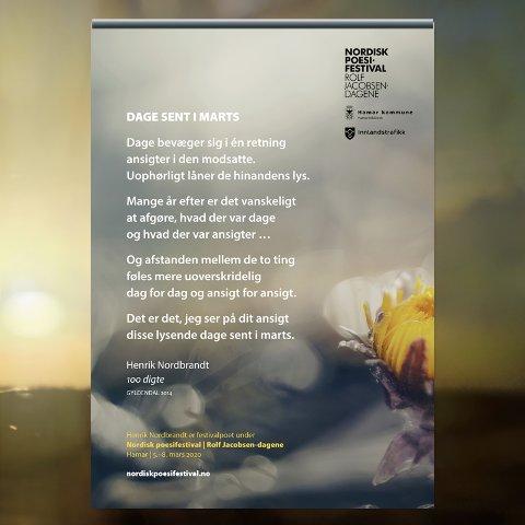 DIKTET: Her er diktet som pryder bussene denne måneden.