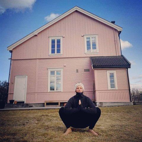 NYTT LIV: Tuva Myklestad har funnet lykken på Hjellum.