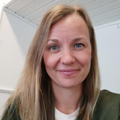 ARRANGERER LØP: Sammen med flere andre har Therese Raaen Jaastad tatt initiativ til å arrangere Rosa sløyfe-løpet 2021.