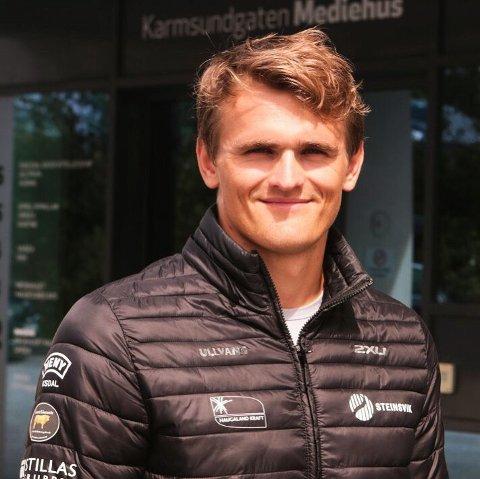 VM-START TORSDAG: Lars Magne Ullvang fra Tysvær er klar for VM i padling.
