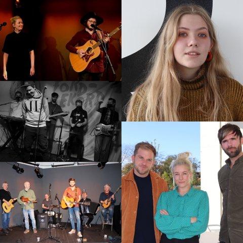 KUDOS: Flere artister og band har så langt tolket lokale artister i serien på Radio 102.