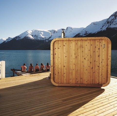 SAUNA: Heit har badstuer i Hardanger, Bergen og snart Åkrafjorden. Nå vil de til Haugesund.