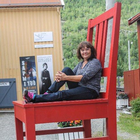 STORE AMBISJONER: Hanne Dyveke Søttar ønsker seg fast sete på Stortinget.