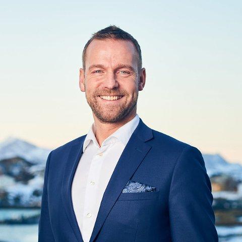 Fornøyd: Konsernsjef Petter Høiseth i Sparebank 1 Nord-Norge.