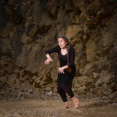 DANS. Elisabeth Heilmann Blind er skuespiller og danser i forestillingen.