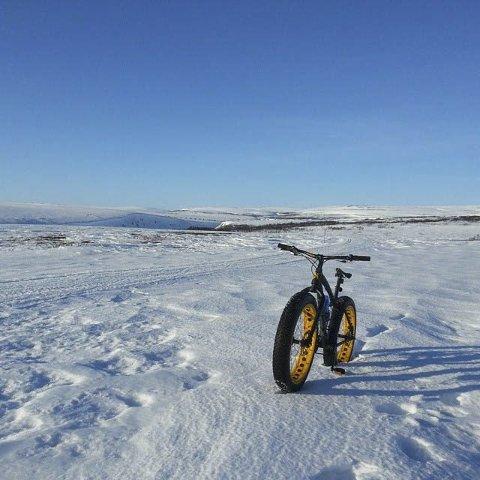 FIKK NEI: Porsanger kommune søkte om penger til spark og vintersykling, men fikk avslag fra miljødepartementet. Årsak? De søkte om for lite penger.