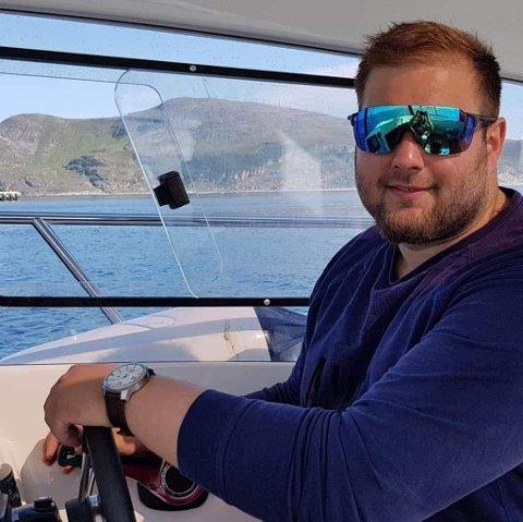 SATSER: Mads Olav Gerhardsen satser i fiskenæringa med bedriften «Krigerfisk».