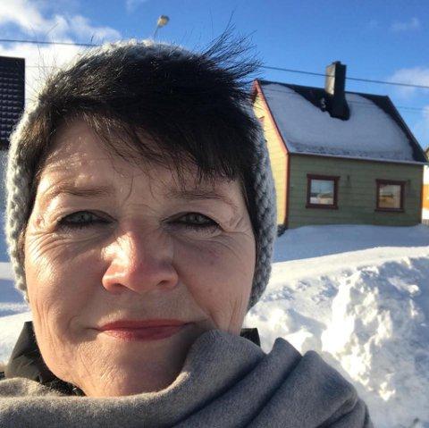 """ÅPNER GALLERI: Hanne Frantzen har flyttet til fødebyen Vardø og starter opp galleriet """"Frantzen av Luna""""."""