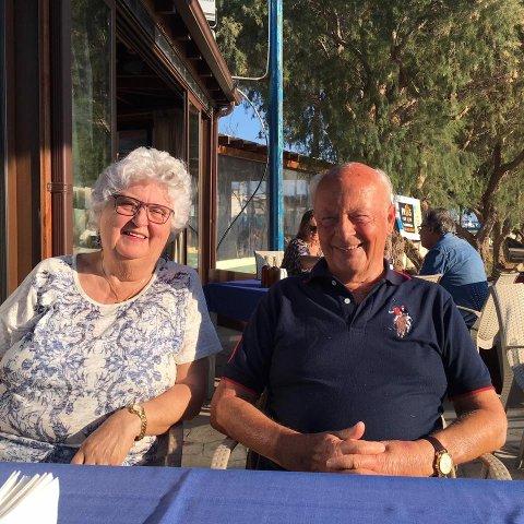 LURT: Ekteparet Anne-Lise Steen Aaserud og Paul Fredrik Steen Aaserud måtte betale nesten 2.000 kroner for en taxitur fra GArdermoen til Oslo.