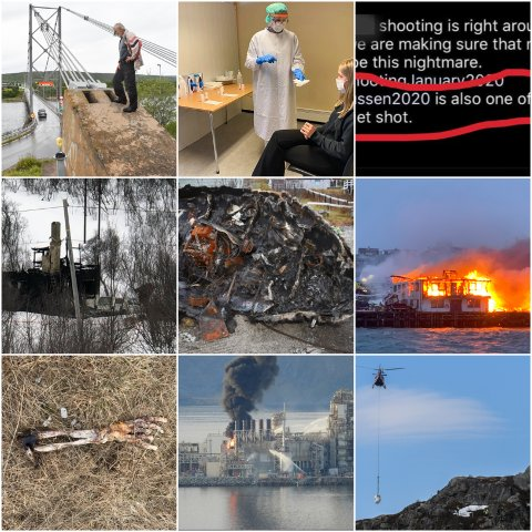 MYE: Det har skjedd mye dette året i Finnmark.
