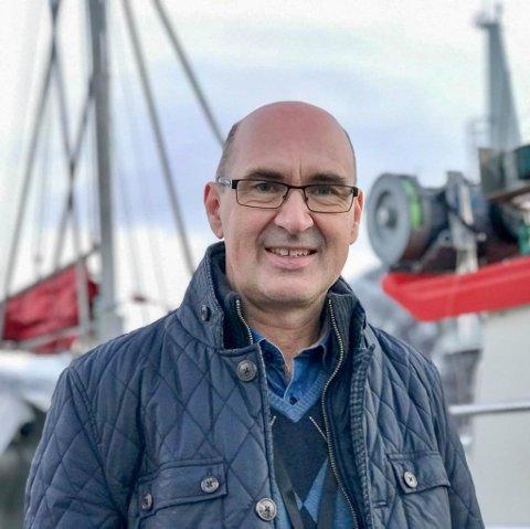VANSKELIG Å SPÅ FRAMTIDEN: Administrerende direktør i Norges Råfisklag, Svein Ove Haugland, og hans kolleger har fått mange henvendelser i det siste.