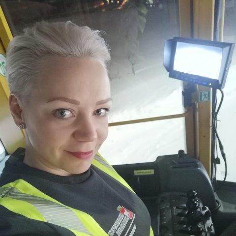 IKKE SIKKER: Cecilie T Hansen er ikke sikker på at Veidnes-prosjektet vil være positivt for befolkningen.