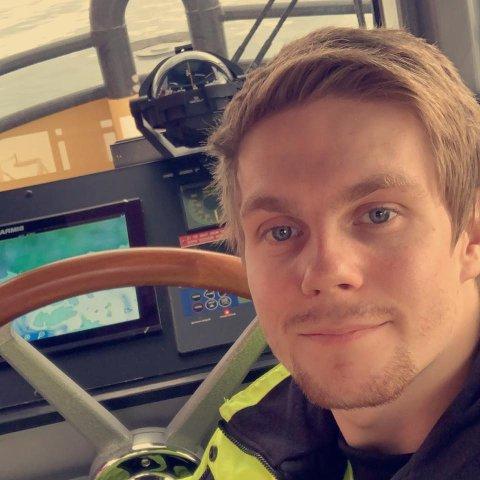 MISTET LIVET: Tobias Alfredsen mistet livet om bord i en flytetank i Gamvik. Bildet er gjengitt med tillatelse fra familien.