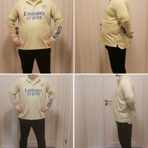 FØR OG ETTER: Siden januar har Kenneth Tvedt rast ned i vekt. Det samme gjelder også konen Malin Lillenes Tvedt. - Til sammen har vi tatt av ca. 40 kilo, sier han.