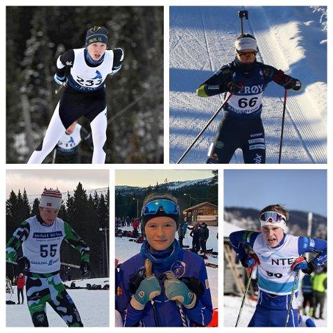 Marius Ressem, Mari Kilskar Grevskott, Trym Nergård Rønning, Anniken Evenhus og Simen Hegstad håper alle at det snart blir lov til å konkurrere igjen.