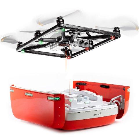 UAVHENGIG AV GPS: Fotokite Sigma kan fly uavhengig av GPS og har en maks høyde på 45 meter. Det er grundig testet av brannvesen i ulike land.