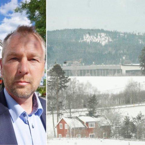 Nytt boligområde: Morthen Bakke og Bakke Prosjekt AS har kjøpt Orderudjordet på Sørumsand.