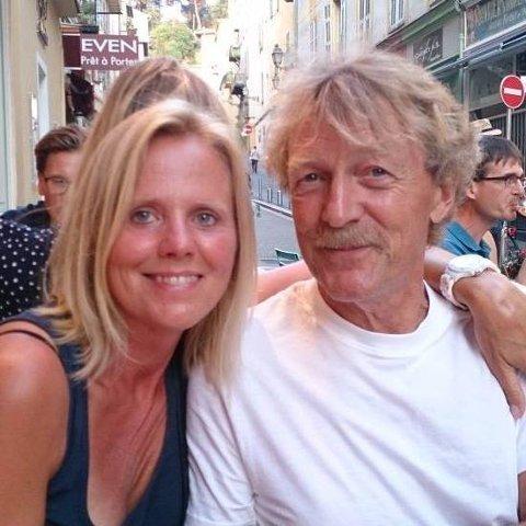 Omkom: Dag Vidar Bautz og kona Wenche elsket livet i Frankrike. Onsdag omkom 68-åringen i en motorsykkelulykke.