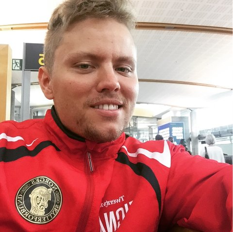 SATSER: Simon Kolstad Claussen satser mot OL 2021.