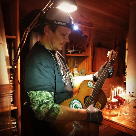 TAR AV: Erik Berntsen skrev låt sammen med Lasse «Lazz» Jensen. Nå har Trinity-låta tatt av på Spotify.