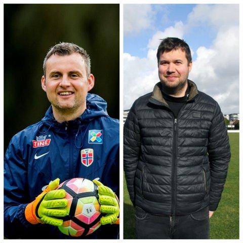 Roger Eskeland og Geir Pollestad blir begge en del av Bryne FKs styre i tiden fremover.