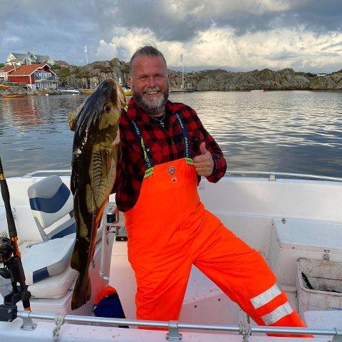 FRIVILLIGKOORDINATOR: Martin Våland er ny frivilligkoordinator i Hå kommune. På privaten er Våland veldig glad i å vera på sjøen.