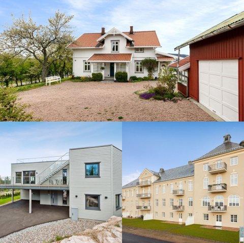 DYRESTE BOLIGENE I LIER: De dyreste boligene i Lier ligger på alt fra 8,9 millioner til 9,9 millioner.