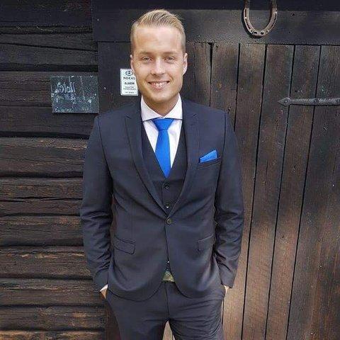 DØDE: Kristian Bekkevold Lillebo fra Sørumsand døde i sin leilighet i Lillestrøm 10. november, bare 25 år gammel.