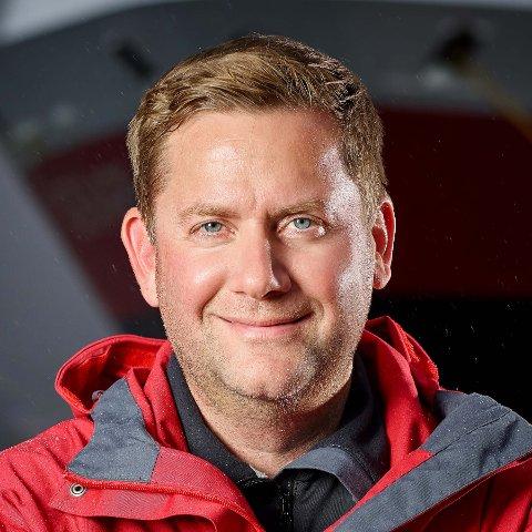 Administrerende direktør Daniel Skjeldam i Hurtigruten AS.