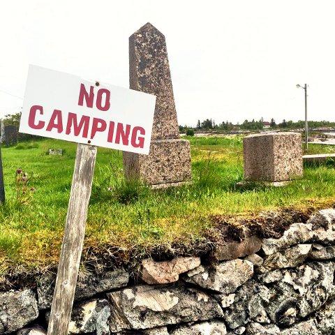 No camping Valberg.
