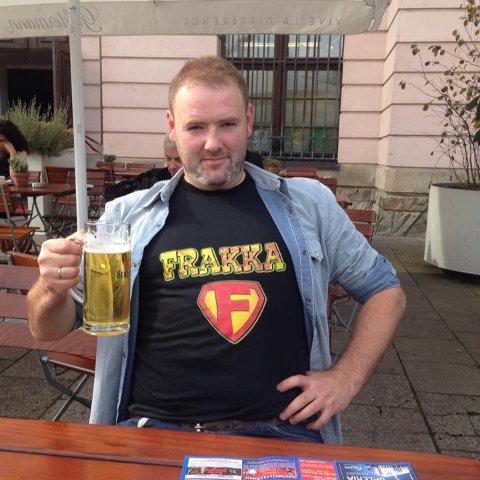 Tippemester: Frank Karlsen stakk av med seieren i Tippemesterskapet for 20 år siden.