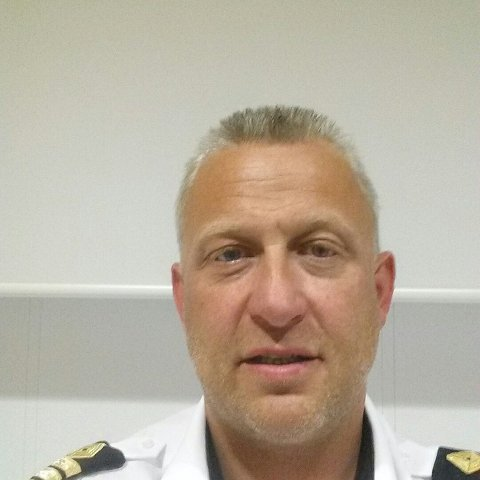 Asbjørn Krogh er leder i Lofoten Mc-klubb