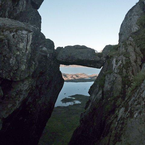 Sherpasti: Nå starter arbeidet med sherpasti opp til Djevelporten i Svolvær.