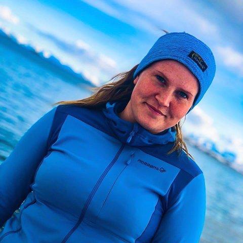 TESTET SEG: Karoline Cecilie Magnussen tok celleprøven mange ganger.