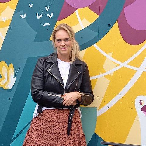 BLANDET: Silje Torsøe forteller at musikken hennes er en blanding av pop, jazz og funk.