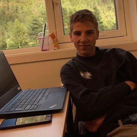 RIKTIG: Dennis Pollestad Thu, elevrådsleder ved Byremo videregående skole, mener det var riktig å avlyse eksamen.
