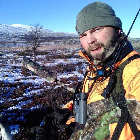 I ARV: Ulf Veidahl ble med familien ut på jakt helt fra han var liten. Det er han takknemlig for.