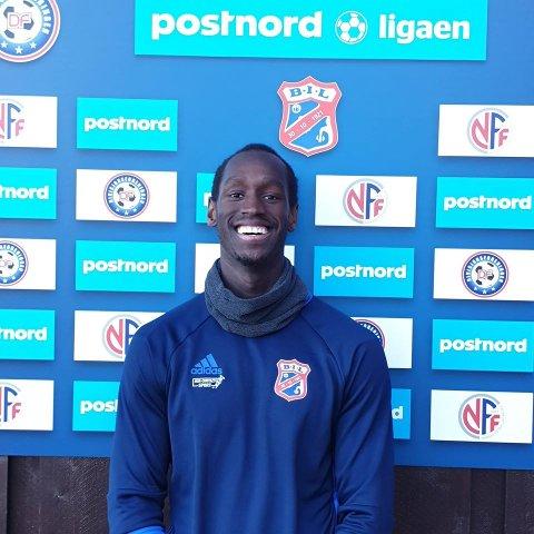 FORLATER BYÅSEN: Agwa Okuot Obiech er blitt MFK-spiller.