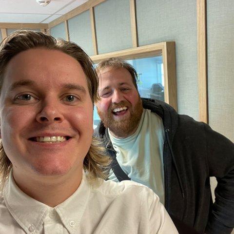 JUBILEUM: I løpet av de fire siste årene har Sivert Moe laget 200 episoder med «Anger», og til jubileumsepisode var hele Norges Ronny Brede Aase gjest.