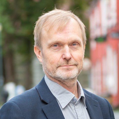 Harry Tiller, kommunikasjonssjef i Trondheim kommune.
