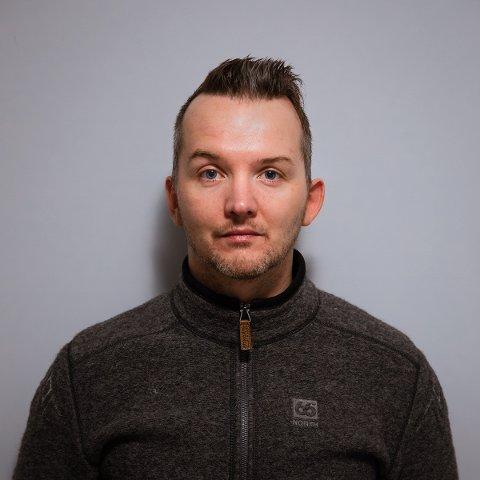 OVERRASKET OG GLAD: Fredrik Strømme (41) fikk seg en overraskelse han sent vil glemme søndag kveld. Nå håper han at delinga skal gi han en boost framover.