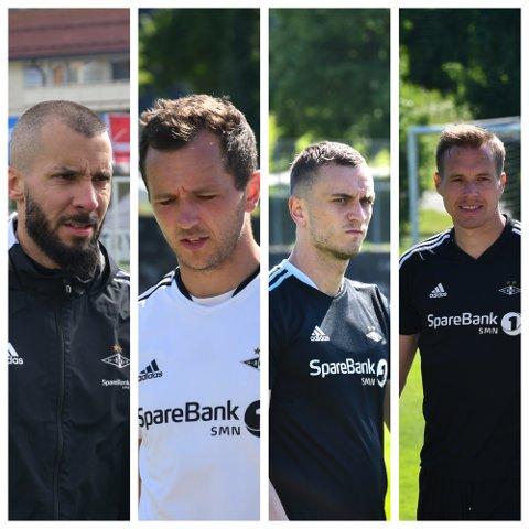 Guillermo Molins, Even Hovland, Besim Serbecic og Anders Ågnes Konradsen kan signere for ny klubb. Samtlige er på utgående kontrakter.