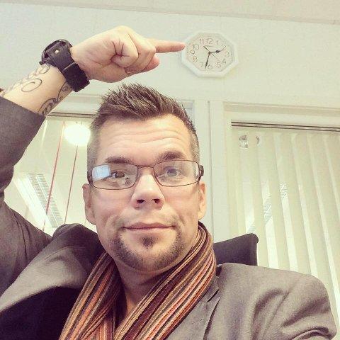 """FJELLFINN: Morten Wøhni Helberg er mannen bak bloggen """"Fjellfinn""""."""