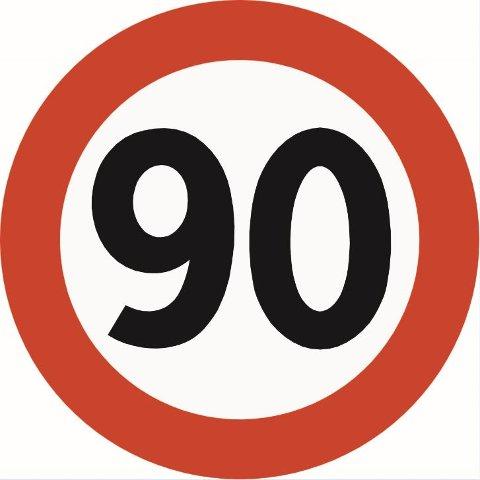 PÅ E8: Lavangsdalen får 90-sone i sommer.