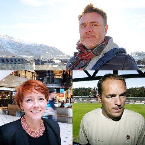 KJØPT OG SOLGT: Disse topper lista over eiendomstransaksjoner i mai: Bård Sverdrup, Veronica Evertsen og Trond Johansen.