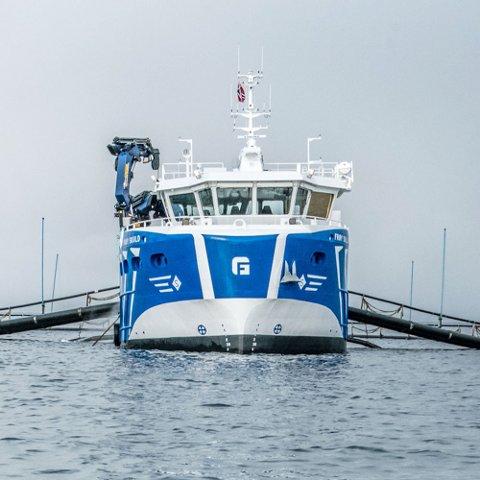 PÅ EGEN KJØL: NTS samler alt som seiler datterselskapet Frøygruppen.