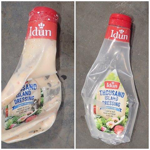 REN PLAST: –Husk å skylle plastemballasjen før du kildesorterer den, melder Horisont.