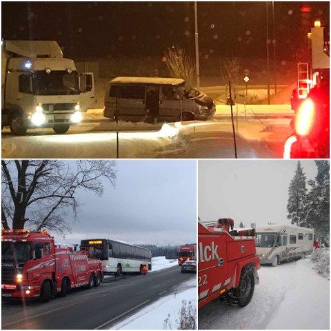 BILBERGING: I januar har det vært rekordmange utforkjøringer.