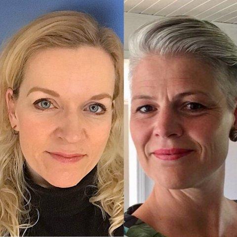TALERE: -Heidi Fredstad (f.v.) og Else Harstad fra Familievernkontoret skal snakke om hvordan vi kan forbedre våre nære relasjoner.